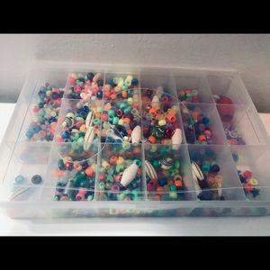Bin of Beads